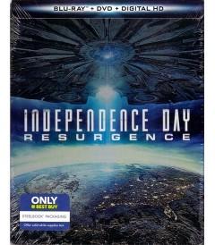 DÍA DE LA INDEPENDENCIA (CONTRAATAQUE) (EDICIÓN STEELBOOK EXCLUSIVO BEST BUY)