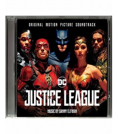 CD - LIGA DE LA JUSTICIA (ORIGINAL MOTION PICTURE SOUNDTRACK)