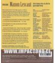 PUCCINI - MANON LESCAUT (GLYNDEBOURNE FESTIVAL OPERA)