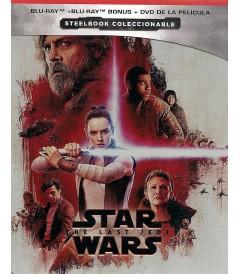 STAR WARS EPISODIO VIII (LOS ÚLTIMOS JEDI) (EDICIÓN ESPECIAL STEELBOOK)