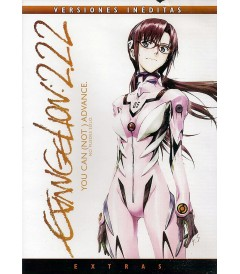 DVD - EVANGELION 2.22 (YOU CAN NOT ADVANCE)