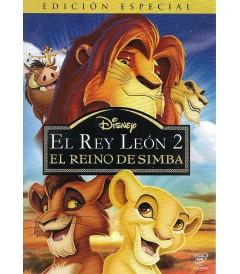 DVD - EL REY LEÓN 2 (EL REINO DE SIMBA) (EDICIÓN ESPECIAL) - USADA