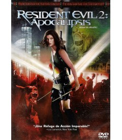 DVD - RESIDENT EVIL 2 (APOCALIPSIS) - USADA