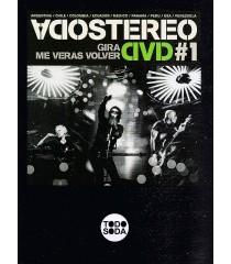DVD - SODA STEREO - GIRA ME VERAS VOLVER (NÚMERO 1)