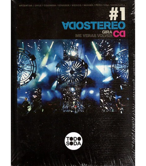 CD - SODA STEREO - GIRA ME VERAS VOLVER
