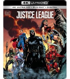 4K UHD - LIGA DE LA JUSTICIA (EDICIÓN EXCLUSIVA STEELBOOK BEST BUY)