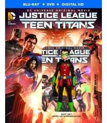 DC ANIMADA 26 - LIGA DE LA JUSTICIA VERSUS JÓVENES TITANES (EDICIÓN DE LUJO NUMERADA)