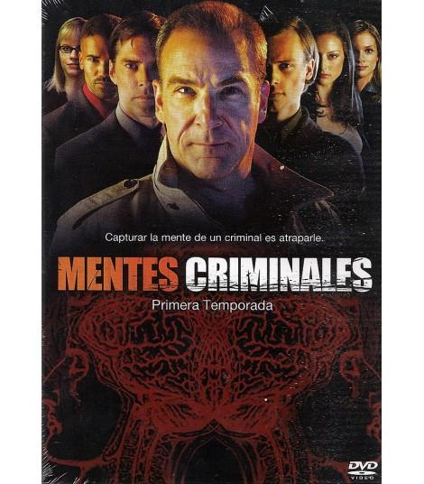 DVD - MENTES CRIMINALES - 1° TEMPORADA COMPLETA