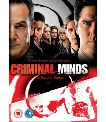DVD - MENTES CRIMINALES - 2° TEMPORADA COMPLETA