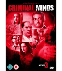 DVD - MENTES CRIMINALES - 3° TEMPORADA COMPLETA