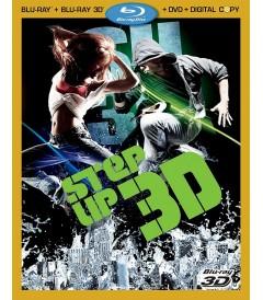 3D - STEP UP 3 (EDICIÓN SLIPCOVER LENTICULAR) - USADA
