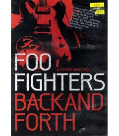DVD - FOO FIGHTERS - BACK AND FORTH - USADA