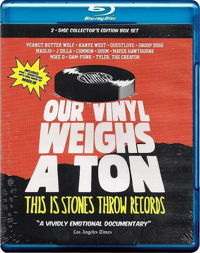 OUR VINYL WEIGHS A TON (THIS IS STONES THROW RECORDS)