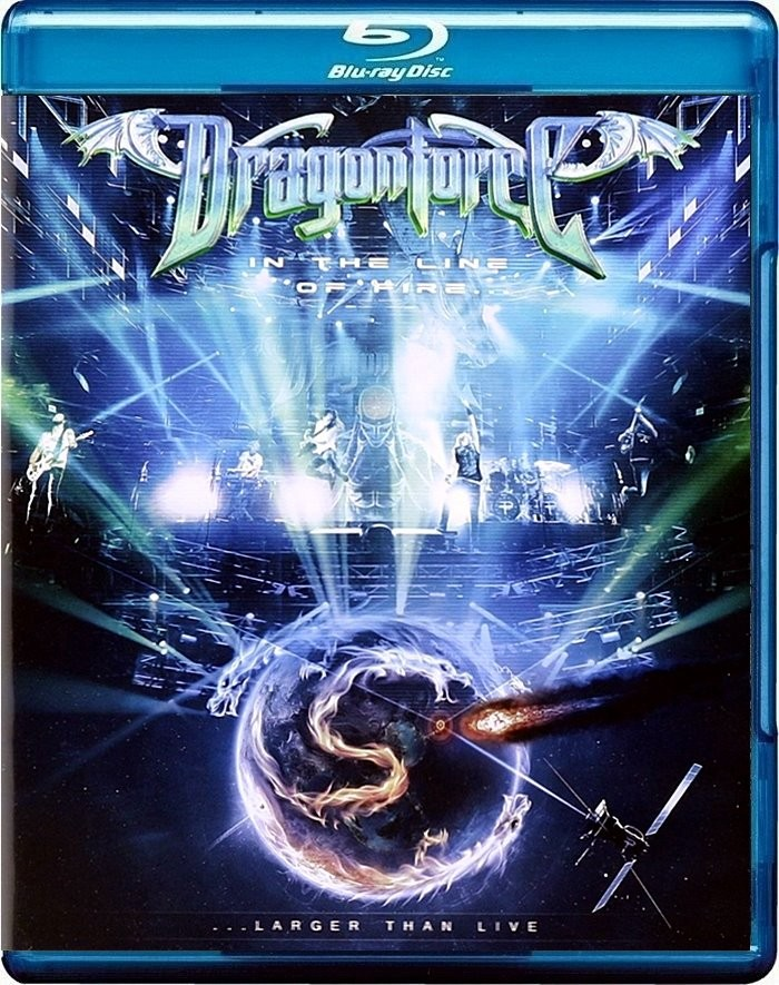 DRAGONFORCE - IN THE LINE OF FIRE (LARGER THAN LIVE)