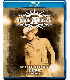 JASON ALDEAN - WIDE OPEN LIVE & MORE