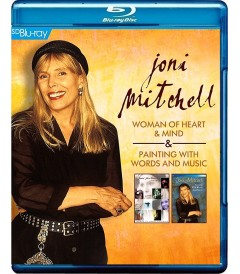 JONI MITCHELL - WOMAN OF HEART & MIND PAINTING WITH WORDS