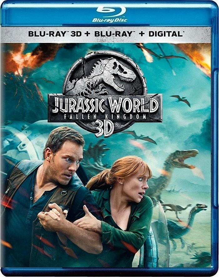 3D - JURASSIC WORLD (EL REINO CAÍDO)