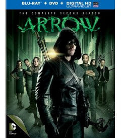 ARROW - 2º TEMPORADA COMPLETA (BD + DVD)