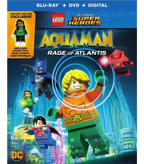 LEGO DC SUPER HÉROES - AQUAMAN (LA IRA DE ATLANTIS)