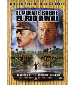 DVD - EL PUENTE SOBRE EL RÍO KWAI - USADA