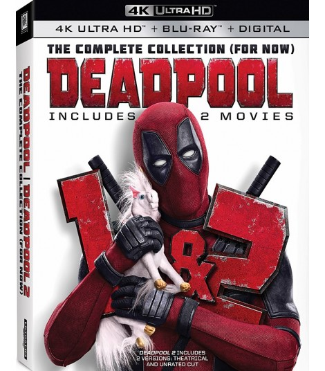 4K UHD - DEADPOOL (PACK DOBLE)