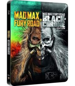 MAD MAX (FURIA EN EL CAMINO) (INCLUYE VERSIÓN NEGRO Y CROMO) (EDICIÓN ESPECIAL STEELBOOK)