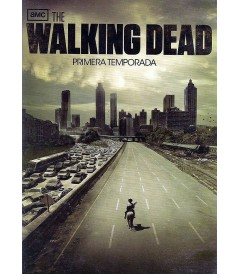 DVD - THE WALKING DEAD - 1° TEMPORADA COMPLETA - USADA