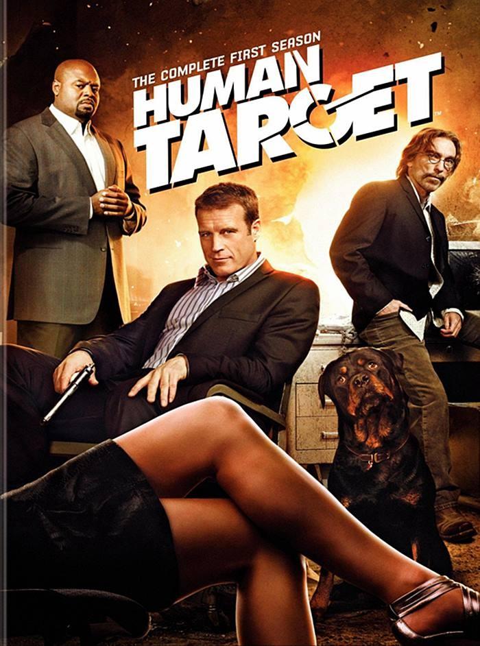 DVD - HUMAN TARGET - 1° TEMPORADA COMPLETA - USADA