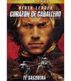 DVD - CORAZÓN DE CABALLERO (EDICIÓN ESPECIAL) - USADA