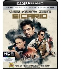 4K UHD - SICARIO (TIERRA DE NADIE)