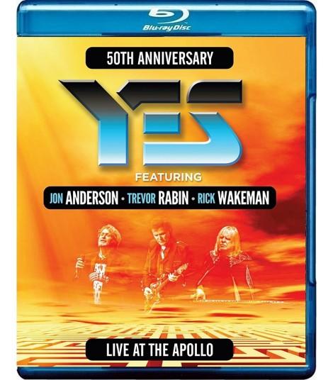 YES (ANDERSON, RABIN, WAKEMAN) - LIVE AT THE APOLLO (50° ANIVERSARIO)