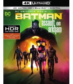 4K UHD - BATMAN (ASALTO A ARKHAM)