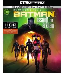 4K UHD - BATMAN (ATAQUE A ARKHAM)