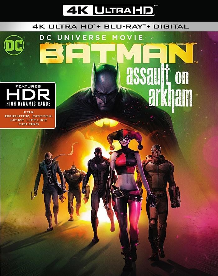 4K UHD - DC ANIMADA 21 - BATMAN (ASALTO A ARKHAM)