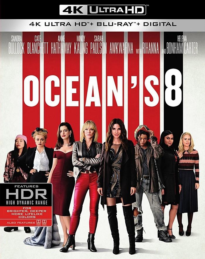 4K UHD - OCEANS 8 (LAS ESTAFADORAS)