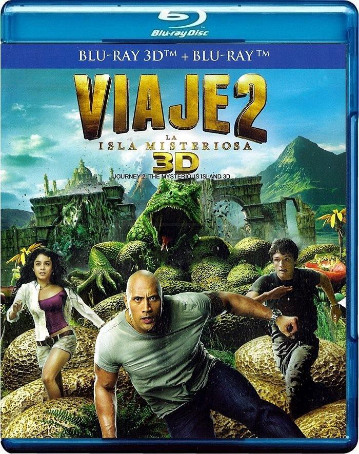 3D - VIAJE 2 (LA ISLA MISTERIOSA) - USADA