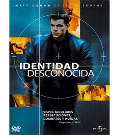 DVD - IDENTIDAD DESCONOCIDA - USADA