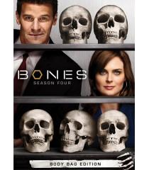 DVD - BONES - 4° TEMPORADA COMPLETA (EDICIÓN BODY BAG) - USADA