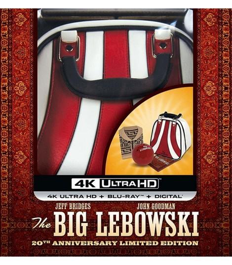 4K UHD - EL GRAN LEBOWSKI (EDICIÓN LIMITADA 20° ANIVERSARIO) - PRE VENTA