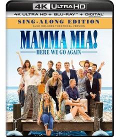 4K UHD - MAMMA MIA (VAMOS OTRA VEZ) (EDICIÓN SING-ALONG)