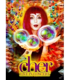 DVD - CHER - LIVE IN CONCERT - USADA