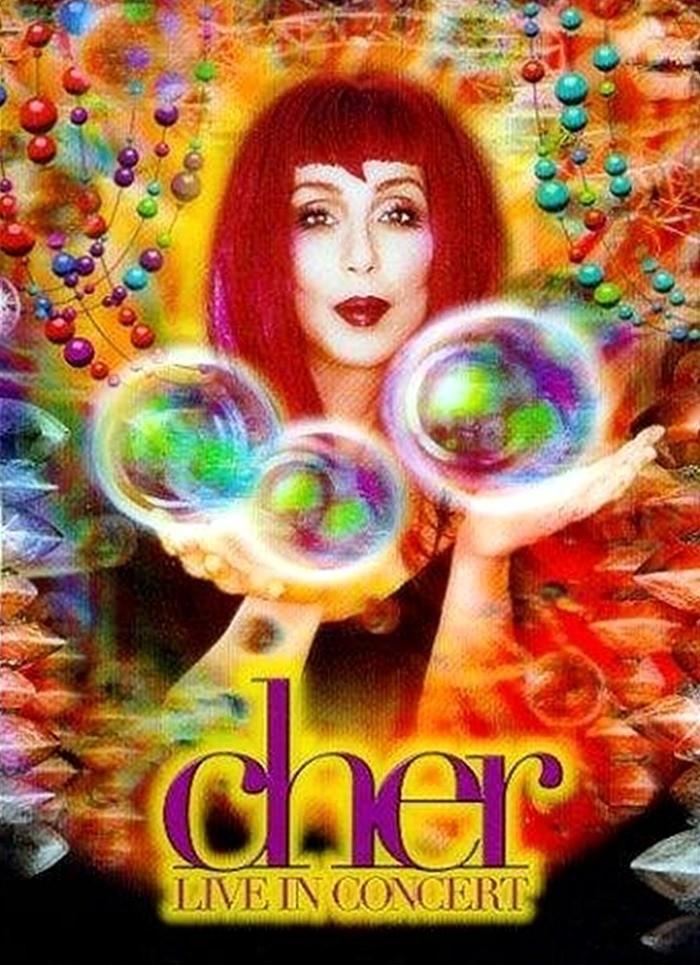 DVD - CHER - LIVE IN CONCERT - USADA