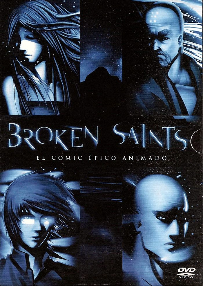 DVD - BROKEN SAINTS (EL COMIC ÉPICO ANIMADO)