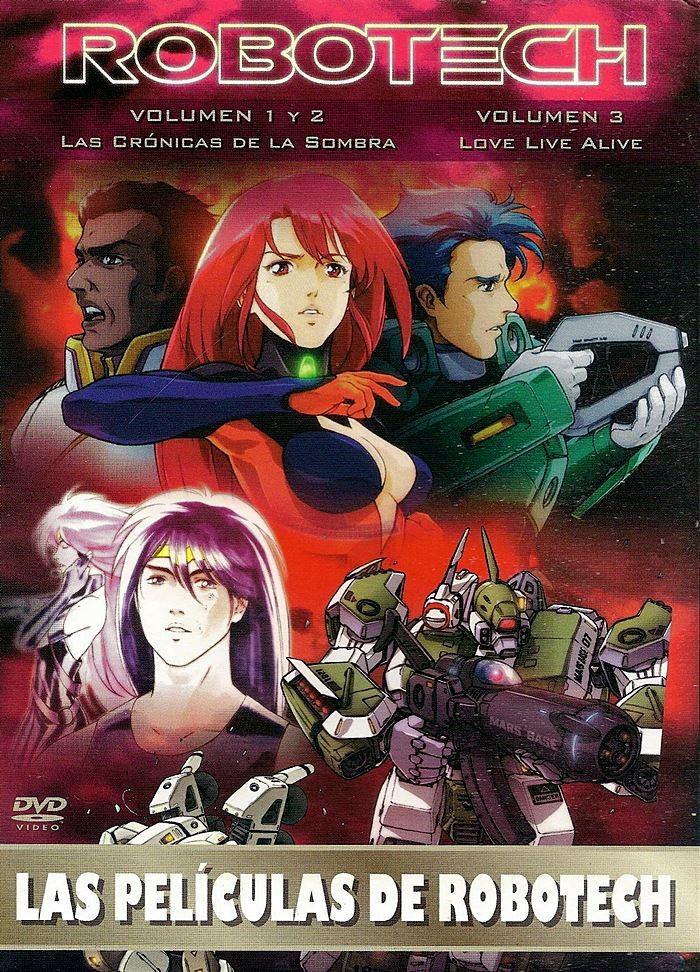 DVD - ROBOTECH (LAS CRÓNICAS DE LA SOMBRA / LOVE LIVE ALIVE) (PACK DOBLE)