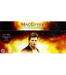 DVD - MACGYVER (LA SERIE COMPLETA)