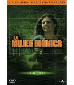 DVD - LA MUJER BIÓNICA - 1° TEMPORADA COMPLETA - USADA