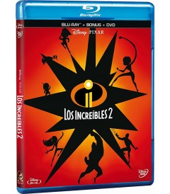 LOS INCREÍBLES 2 (BD + DVD)