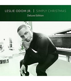 CD - LESLIE ODON JR. - SIMPLY CHRISTMAS (DELUXE EDITION) - USADO