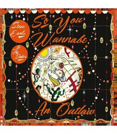 CD - STEVE EARLE & THE DUKES - SO YOU WANNABE AN OUTLAW - USADO