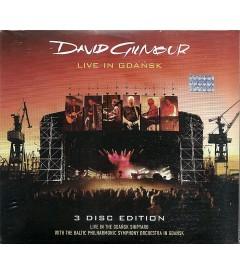 DVD - DAVID GILMOUR - LIVE IN GDANSK